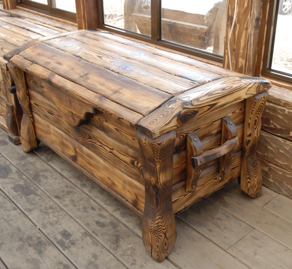 Как сделать скамейку из дерева